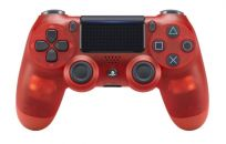 SONY DUALSHOCK 4 Translucent Red v.2