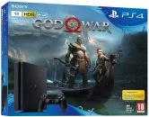 PlayStation 4 černý 1TB + God of War